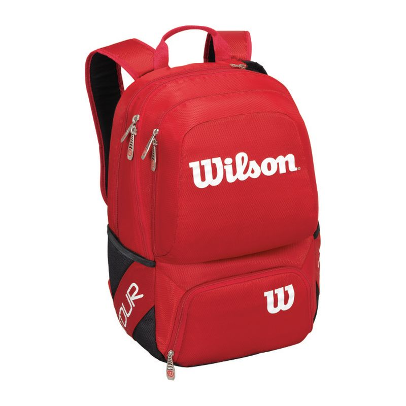 Wilson Tour V Backpack Small Rosso
