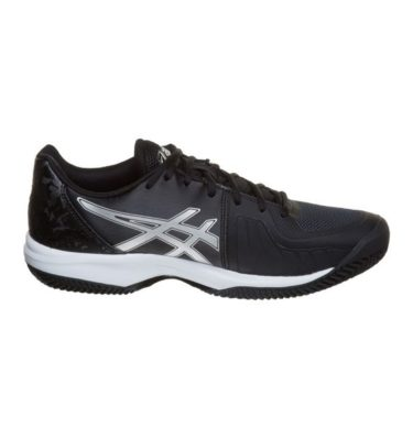 Asics – GEL-Court Speed Clay – Black - Silver - White lato
