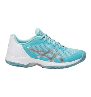 Asics – GEL-Court Speed Clay – Porcelain Blue - Silver - White lato 1