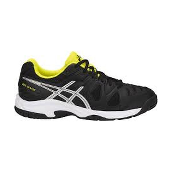 Asics – GEL Game 5 GS – Black-Silver - Sulphur Spring lato 1