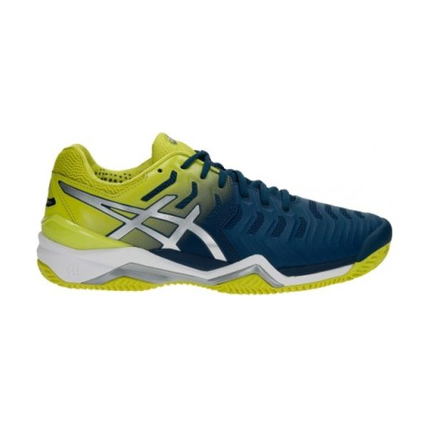 Asics – GEL-Resolution 7 Clay – Ink Blue - Sulphurus Spring-White lato 1