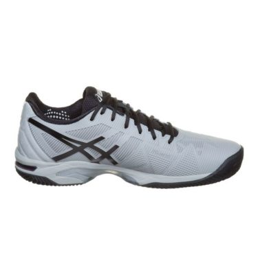 Asics – GEL-Solution Speed 3 Clay – Mid Grey - Black lato 1