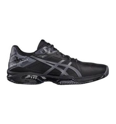 Asics – GEL-Solution Speed 3 Clay L.E. – Black-Dark Grey-Carbon lato 1